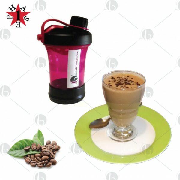 Bevanda proteica al cappuccino