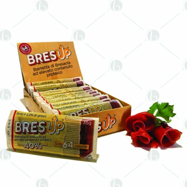 Barretta di Bresaola proteica bresup