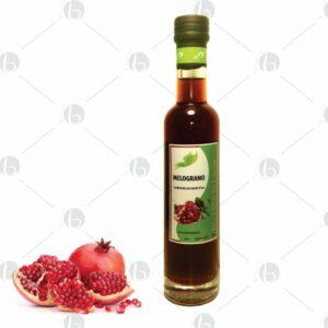 Condimento con mosto d'uva al mirtillo