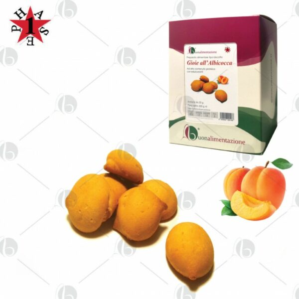 Gioie Proteiche all' Albicocca Fase 1 – Box 4 x 50g