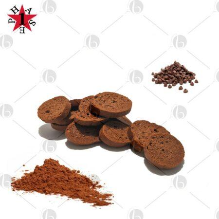 Crostini proteici al cacao