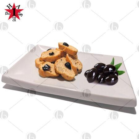 crostini proteici alle olive